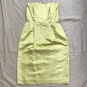 Simple Silhouettes New York Formal Yellow Dress